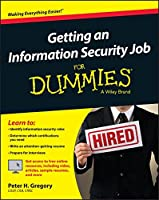 Getting an Information Security Job For Dummies Front Cover
