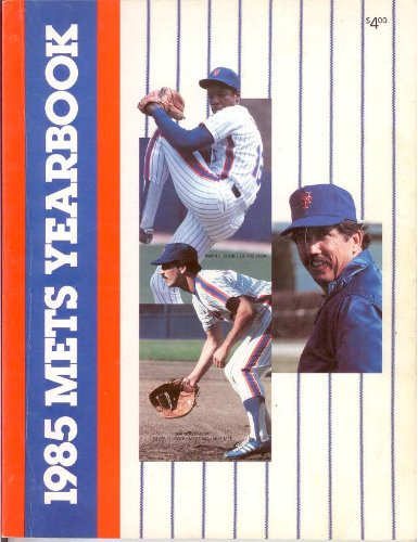 New York Mets Official 1985 Yearbook at Amazon.com