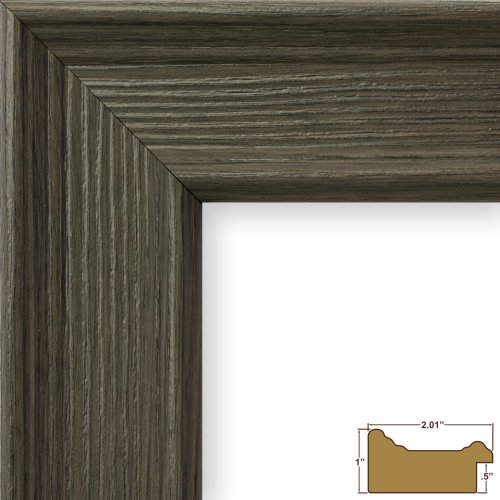 craig frames 12 by 36inch picture frame wood composite 2inch wide barnwood