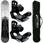 AIRTRACKS SNOWBOARD SET - CARBON BOAR...