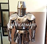 Medieval Wearable Knight Crusador Full Suit of Armor Collectible Costume