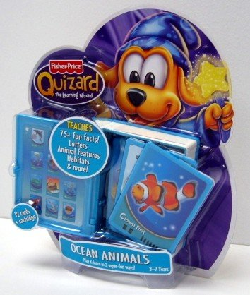 Quizard Ocean Animal Card Pack - Buy Quizard Ocean Animal Card Pack - Purchase Quizard Ocean Animal Card Pack (Fisher-Price, Toys & Games,Categories,Electronics for Kids,Learning & Education,Toys)