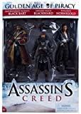 McFarlane Toys Series 1 Assassin's Creed Pirate Action Figure, 3-Pack by McFarlane Toys [Toy]