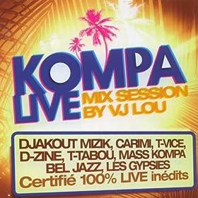 Amazon.com: Kompa Live (Mix Session By VJ LOU): Various artists: MP3