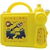 Tuelip Despicable Me Minion Lunch Box And Water Bottle Set For Kids And Gifts -Yellow