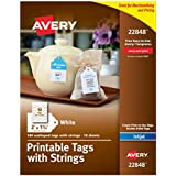 Declarative image in avery printable tags