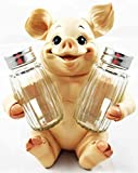 Animal Farm Cute Babe Pig Porcine Spice Figurine Salt Pepper Shakers Holder Kitchen Decor Centerpiece Farmers Animal Lovers