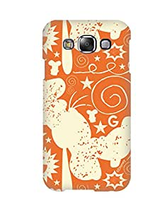 Pick Pattern with Exclusive DISNEY Characters Back Cover for Samsung Galaxy E5 SM-E500F