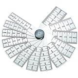 Starrett 269MB - Cuña de medición (rango de medición 12-25 mm, división de la escala 0,02 mm, longitud 70 mm,...