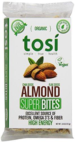 Tosi Superbites, Almond, 12 Count