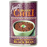 Amy's Organic Black Bean Chili, 14.7-Ounce Cans (Pack of 12) ~ Amy's Organic