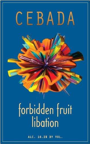 Nv Cebada Forbidden Fruit Libation Blueberry Wine 375 Ml