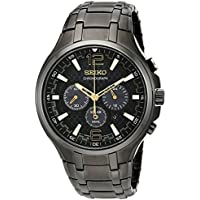 Seiko Men's 'Recraft Series' Quartz Stainless Steel Dress Watch (SSC451)