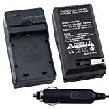 eForCity® Battery Charger Compatible with Nikon Coolpix S50 c S51 c S52 S52c