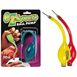 Buckeye Nation Sales EZ SQUEEZE Sports BALL Hand Small Portable Air PUMP With Needle Basketball Football Soccer...