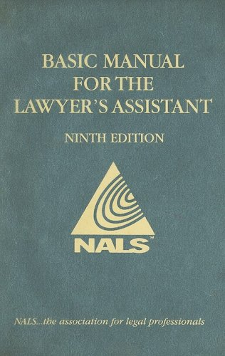 Nals Basic Manual for the Lawyer's Assistant