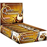 Quest Bar Protein Bar, Chocolate Peanut Butter, 2.12 Ounce (Pack of 12)