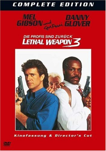 Lethal Weapon 3 (2 DVDs, Kinoversion & Director's Cut)