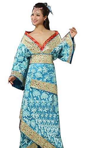 Vshop-2000 Chinese Ancient Stage Costumes Women's National Halloween Cosplay