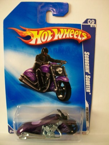 2009 Hot Wheels Scorchin' Scooter 105/190