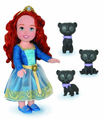Disney Pixar Brave Merida Toddler Doll - 3 Bears - Kleinkind Puppe mit 3 Bären - aus USA