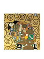 Artopweb Panel Decorativo Klimt Abbraccio Detail 30x30 cm Multicolor