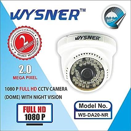 Wysner WS-DA20-NR 2MP Full HD Dome CCTV Camera