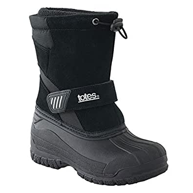 Amazon.com: Totes Pac Winter Boots -Size Boys 6 Med: Shoes