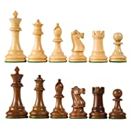 Wholesale Chess British Staunton Style Sheesham Wood Chess Pieces – 4″ King Height