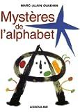 Les mystères de l'alphabet