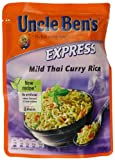 UNCLE BEN'S Express Thai Curry Rice 250 g (Pack of 6)