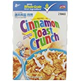 General Mills Toast Crunch Cereal, Cinnamon, 49.5 Ounce,(2 Pack)