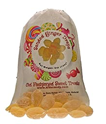 Claey\'s Sanded Ginger Drops Old Fashioned Cloth Bag 6 Ounces