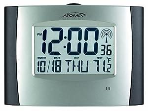 AcuRite 562 Atomix Digital Wall Clock