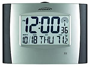 AcuRite 562 Atomix Digital Wall Clock