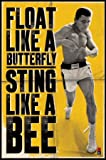 1art1 43384 Poster Muhammad Ali Float Like a Butterfly 91 X 61 cm