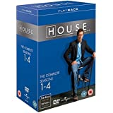 House - Season 1-4 Complete [DVD]by Hugh Laurie