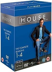House - Season 1-4 Complete [DVD]