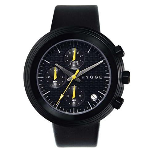 [ヒュッゲ]HYGGE 腕時計 2312 CHRONOGRAPH SERIES MSM2312BC(BK) MSM2312BC(BK) 【正規輸入品】