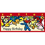 Schoko-Manufaktur Zotter »Happy Birthday« Butter Caramel 70g (1 x 0 l)