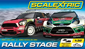 Scalextric C1295 Rally Stage 1:32 Scale Race Set