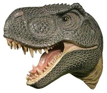 T-Rex Attack Plaque 3-D Wall Art