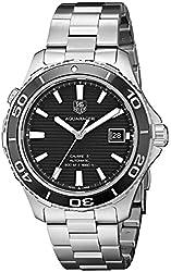 TAG Heuer Men's WAK2110.BA0830 Aqua Racer 500 Swiss Automatic Silver Watch