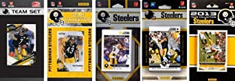 NFL Pittsburgh Steelers 5 Different Licensed Trading Card Team Sets by C&I Collectables