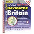 Philip's 5-Star Navigator Britain: Spiral (Road Atlas)