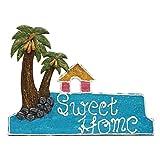 999Store welcome tree plate door hanging handicraft gift item home décor hand painting