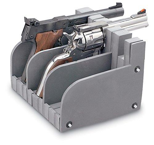 Learn More About Hyskore 3 Gun Modular Pistol Rack, Black