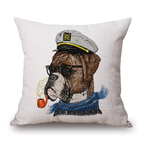 [Loveloveu Throw Cushion Covers Of Dog,for Drawing Room,office,family,bar Seat,kids Girls 20 X 20 Inches / 50 By 50 Cm(twin] (Diy Sushi Dog Costume)