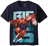 Disney Big Boys' Big Hero 6 Baymax Short Sleeve Graphic Tee