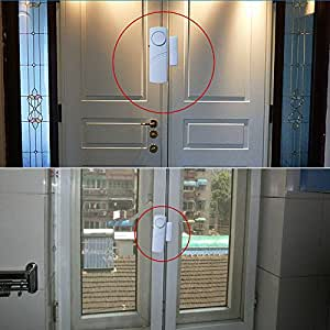 Kawachi Entry Wireless Door Window Safety Contact Magnetic Security Alarm